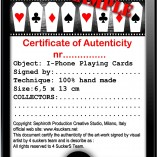 certificato i phone play card
